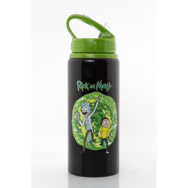 Rick and Morty Aluminium Drink Bottle - Image 1