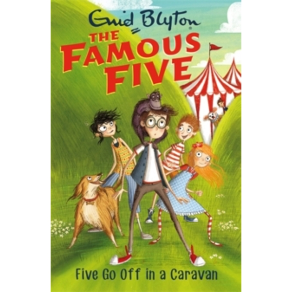 Five Go Off In A Caravan : Book 5