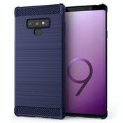 CASEFLEX SAMSUNG GALAXY NOTE 9 CARBON ANTI FALL TPU CASE - BLUE