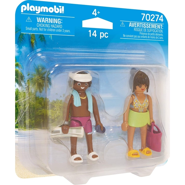 Playmobil Duo Pack Vacation Couple Figures