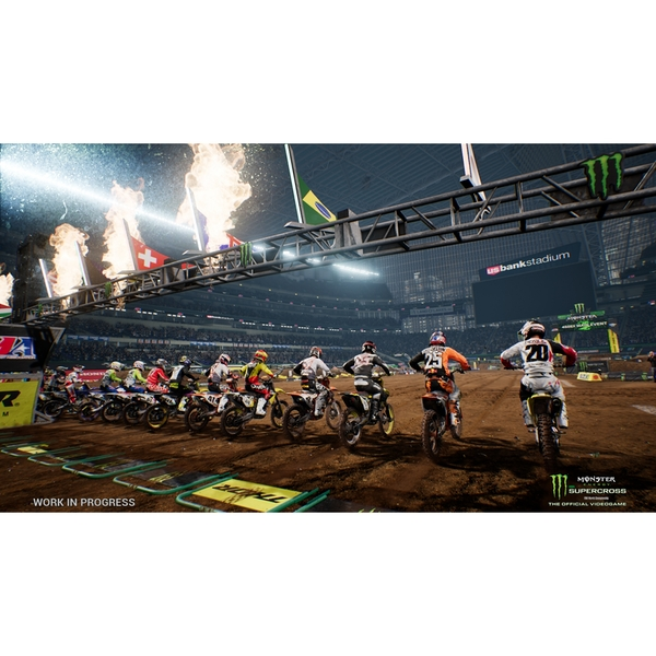 Monster Energy Supercross Videogame Nintendo Switch Game - Image 4
