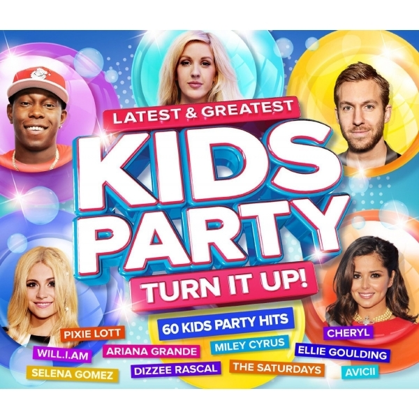 Various Artists - Latest & Greatest Kids Party , Turn it Up CD