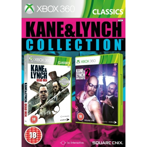 Kane and Lynch 1 & 2 Collection (Classics) Game Xbox 360