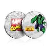 The Incredible Hulk Limited Edition Collectors Coin (Silver)