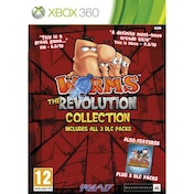 Worms the Revolution Collection Game Xbox 360