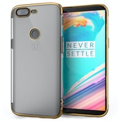 OnePlus 5T Shockproof Gel Case Gold