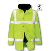 Black Knight X-Large Lancelote Executive 3/4 High Visibility Jacket - Yellow