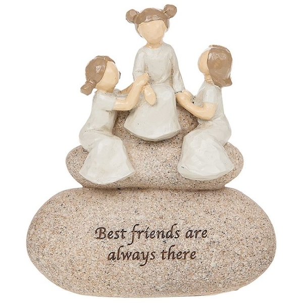 Sentiment Stones Friends Ornament