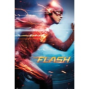 The Flash Run Maxi Poster