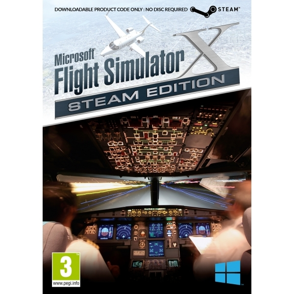 Microsoft Flight Simulator X Steam Edition PC Game