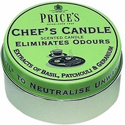 Price's Candles Chefs Tin Scented