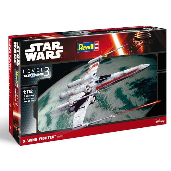 X-Wing Fighter 1:112 Revell Model Kit