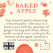 Baked Apple (Fragrant Orchard Collection) Glass Candle - Image 3