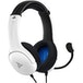 White LVL40 Stereo PDP Headset for PS4 & PS5 - Image 2