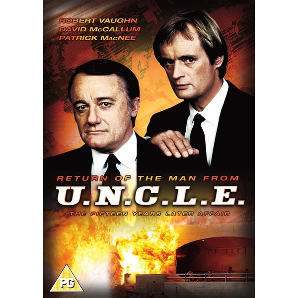 The Return of the Man from the U.N.C.L.E. DVD