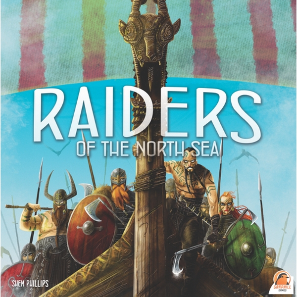 Raiders of the North Sea - 2nd Edition (2017) Board Game