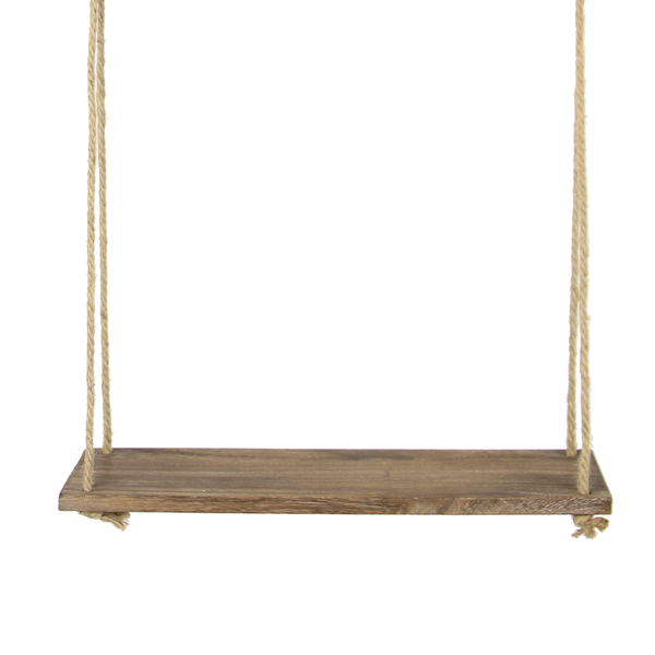 Wooden Hanging Shelf | M&W 1 Tier
