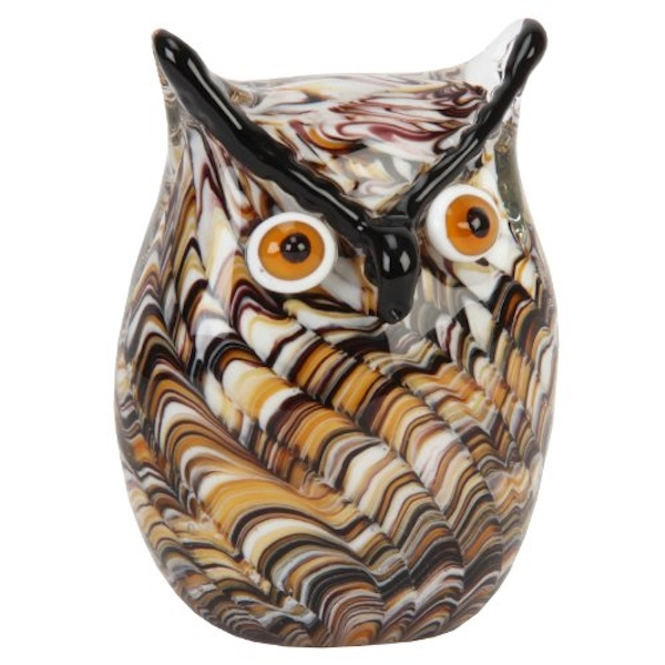 Objets d'Art Figurine - Swirling Owl