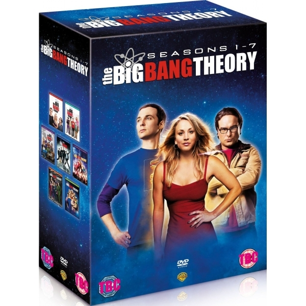 The Big Bang Theory Seasons 1-7 DVD