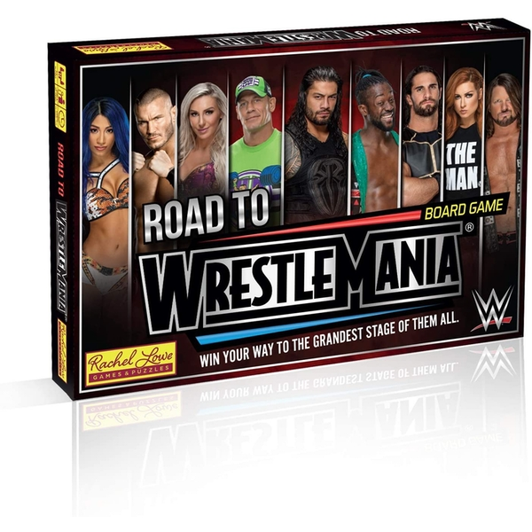 WWE Road to Wrestlemania Board Game - Image 1