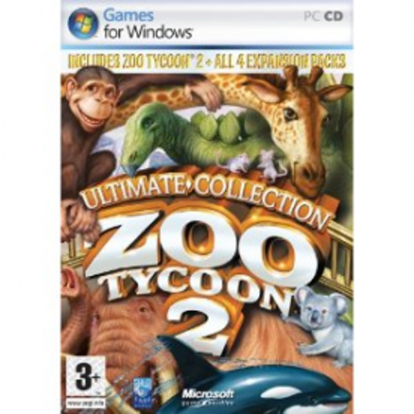Zoo Tycoon 2 Ultimate Collection Game PC