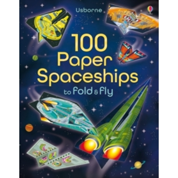 100 Paper Spaceships to Fold and Fly by Jerome Martin (Paperback, 2015)