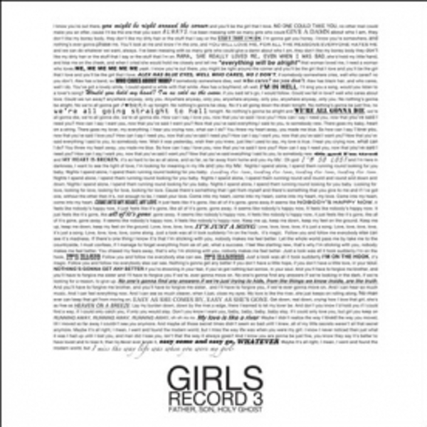 Girls - Father Son Holy Ghost CD