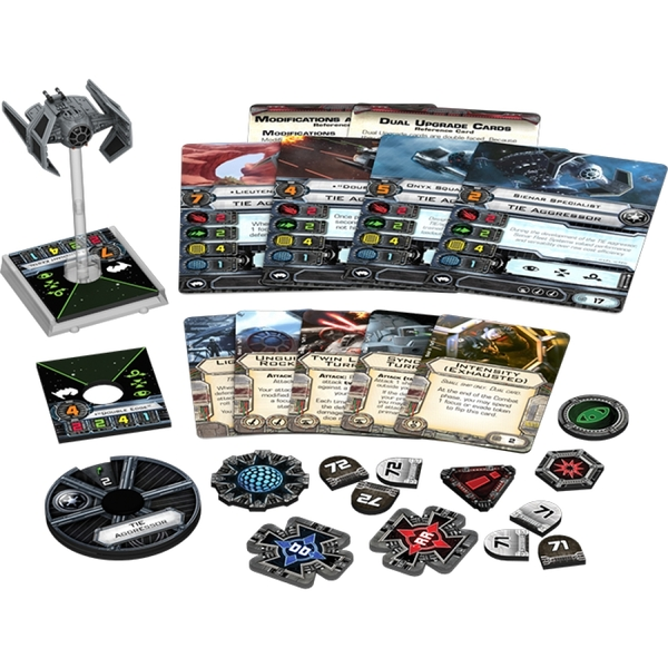 TIE Aggressor X-Wing Miniature (Star Wars) Expansion Pack - Image 2