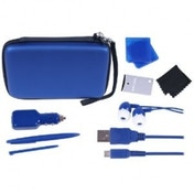 Crown Deluxe 12-in-1 Accessory Pack Blue 3DS
