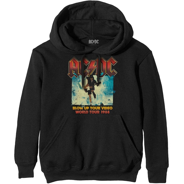 AC/DC - Blow Up Your Video Unisex Large Hoodie - Black