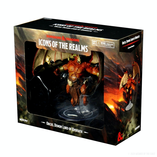 D&D Icons of the Realms: Demon Lord - Orcus, Demon Lord of Undeath Premium Figure
