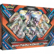 Ex-Display Pokemon TCG Shiny Tapu Koko-GX Box