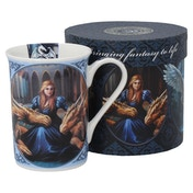 Fierce Loyalty Dragon Mug
