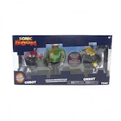 Ex-Display Sonic Boom - Figure Diorama Cubot, Orbot & Parallel Universe Villain Figure Used - Like New