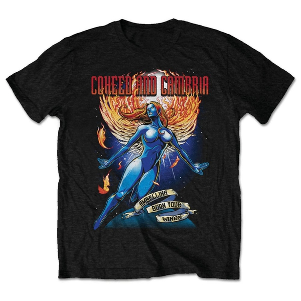 Coheed And Cambria - Ambelina Unisex X-Large T-Shirt - Black