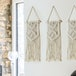 Set of 2 Macrame Wall Hangings | M&W - Image 2