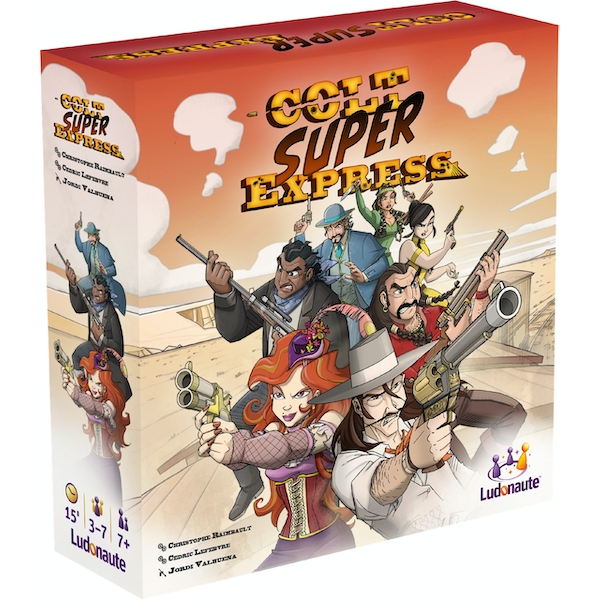 Colt Super Express Board Game