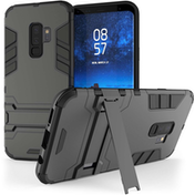 Samsung Galaxy S9 Plus Armour Kickstand - Steel Black