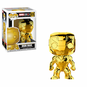 Iron Man Chrome Gold (Marvel) Funko Pop! Vinyl Figure #375