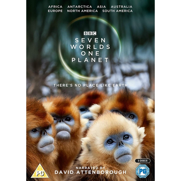 Seven Worlds, One Planet DVD