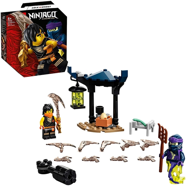 Lego Ninjago Epic Battle Cole Vs Ghost Warrior Construction Set