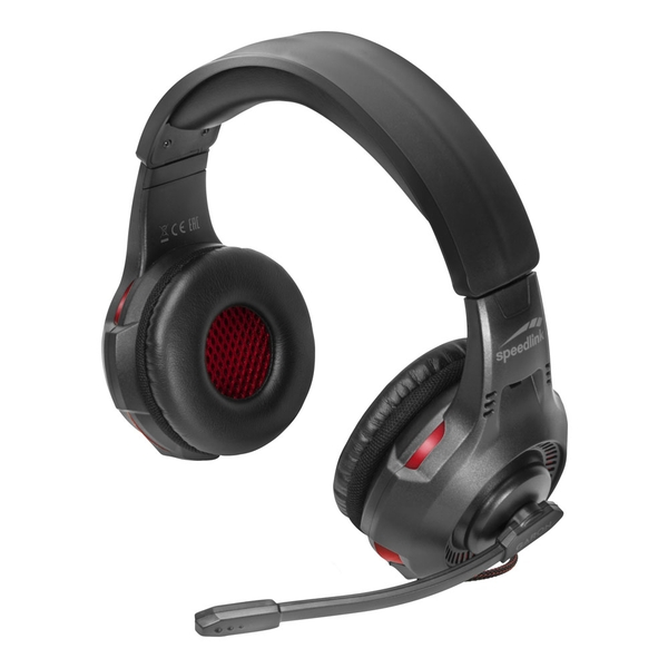 Speedlink Garon Stereo PC Gaming Headset with Flip-Up Microphone Dual 3.5mm Jack Plug Connectors 2.2m Cable