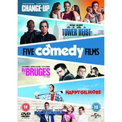 The Change-Up/Tower Heist/Happy Gilmore/In Bruges/Role Models DVD