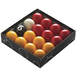 "Powerglide Pool Ball Red/Yellow - 1 7/8"" - Image 2"