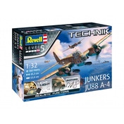 Ex-Display Junkers Ju88 A-4 (Aircraft) 1:32 Scale Level 5 Revell Technik Model Kit Used - Like New