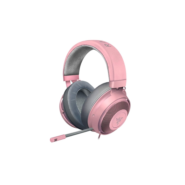 Razer RZAUKR05RT Kraken Gaming Headset with Cooling Gel Earpads for Ambitious Gamers - Pink (Quartz)