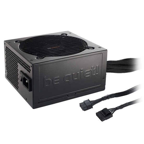 Be Quiet! 500W Pure Power 11 PSU, Fully Wired, Rifle Bearing Fan, 80  Gold, Cont. Power