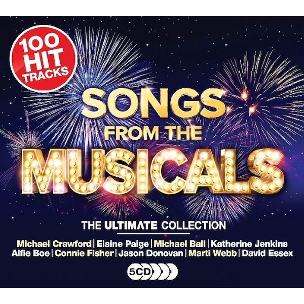Ultimate Songs From The Musicals CD