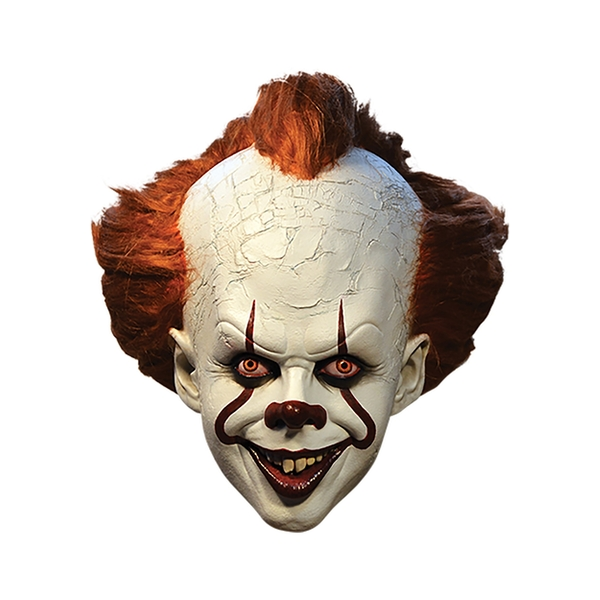 Pennywise It Clown Deluxe Latex Mask Licensed Film Adult