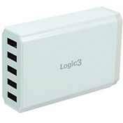 Logic3 Portable Travel Hi Power USB Smart Charger UK Plug